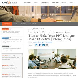 14 PowerPoint Presentation Tips to Make Your PPT Designs More Effective [+Templates]