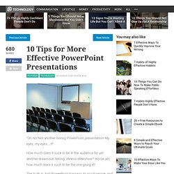 10 Tips for More Effective PowerPoint Presentations - Stepcase Lifehack