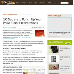 10 Secrets to Punch Up Your PowerPoint Presentations