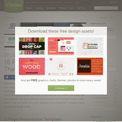 16 PowerPoint Templates That Look Great in 2014