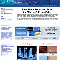 Free PowerPoint Templates - for Microsoft PowerPoint
