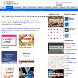 53,046 Free PowerPoint templates - High Quality