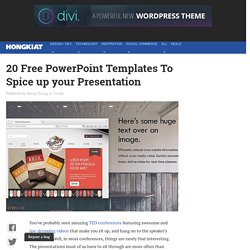 20 Powerpoint Templates You Can Use For Free