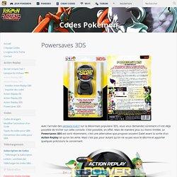 Powersaves 3DS - Codes Pokemon