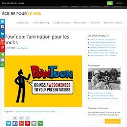 PowToon: l'animation pour les noobs