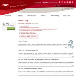PPAedu FAQs