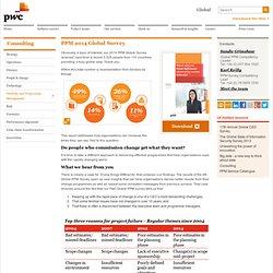 PPM 2014 Global Survey:PwC