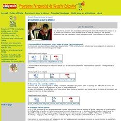 PPRE IA13 : Documents