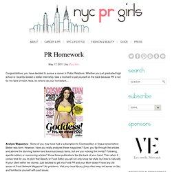 PR Homework