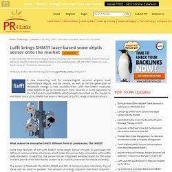 Lufft brings SHM31 laser-based snow depth sensor onto the market