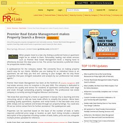 Premier Real Estate Management makes Property Search a Breeze