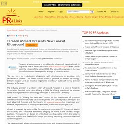 Terason uSmart Presents New Look of Ultrasound