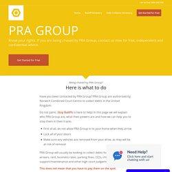 PRA Group - Stop Bailiffs