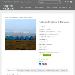 PRABALGAD TREK & CAMPING WITH TRAVEL TRIKON
