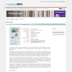 Libro - La práctica del análisis de correspondencias