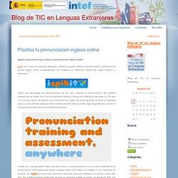 Practica tu pronunciación inglesa online