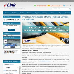 Advantages of GPS tracking device for vehicles