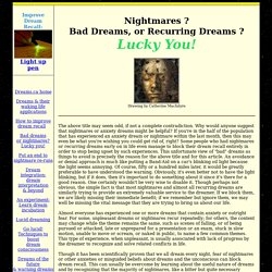Dreams - practical dream analysis & waking life meaning