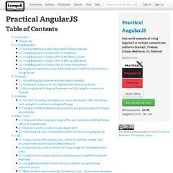 Read Practical AngularJS