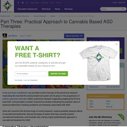 A Practical Approach to Cannabis ASD Therapy