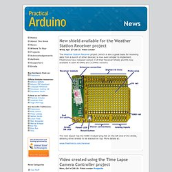 Practical Arduino: News