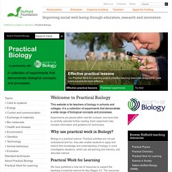 Home - Practical Biology