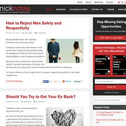Practical Dating Advice and Tips for Men - Nick Notas