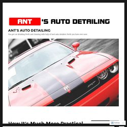 How It's Much More Practical to Go for Auto Detailers in Perth than Diy – ANT'S AUTO DETAILING