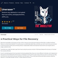 4 Practical Fast Ways for File Recovery