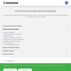 32 Practical Kanban Board Examples