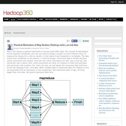Practical illustration of Map-Reduce (Hadoop-style), on real data