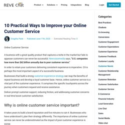 10 Practical Ways to Improve your Online Customer Service