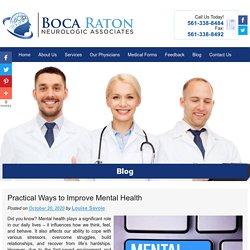 Practical Ways to Improve Mental Health