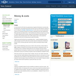 Practical travel information on Money and costs in New Zealand - Lonely Planet Travel Information