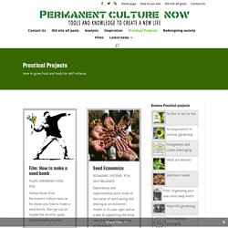 Practical Projects - Permanent Culture Now