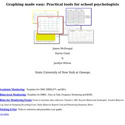 Graphing made easy: Practical tools for school psychologists