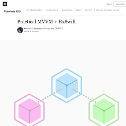 Practical MVVM + RxSwift – Flawless iOS