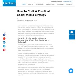 How to craft a practical social media strategy [Infographic]