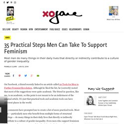 35 Practical Steps Men Can Take To Support Feminism