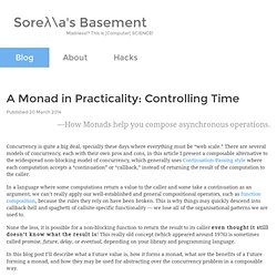 A Monad in Practicality: Controlling Time - Soreλ\a's Basement