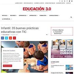 Infantil: buenas prácticas educativas con TIC