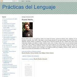 Prácticas del Lenguaje: Ricardo Mariño