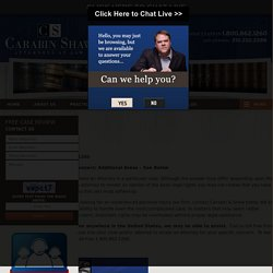 San Antonio, Texas Accident Lawyer Carabin & Shaw
