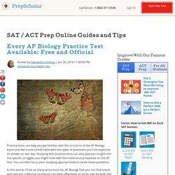 Every AP Biology Practice Test Available: Free and Official