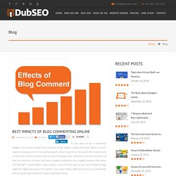 Best Practice SEO Tips for Bloggers and Blog Commenting