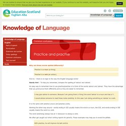 Practice and practise - Common confusions - Knowledge of Language