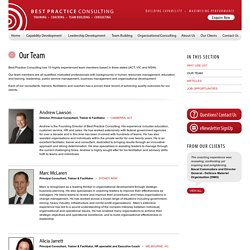 Our Team - Best Practice Consulting - Canberra Sydney Melbourne