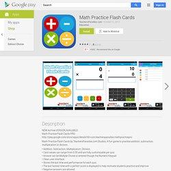 Math Practice - Aplicações no Android Market