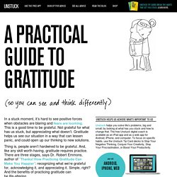 How to Practice Gratitude – Helpful Tips