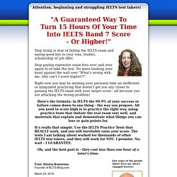 IELTS Practice Tests For Immediate Download